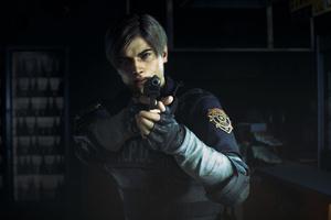 Leon Kennedy Resident Evil 2 4k