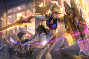 Leona And Support League Of Legends 8k