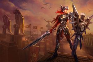 Leona League Of Legends 4k