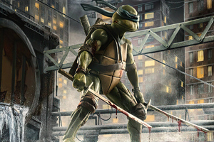 Leonardo Figurine Tmnt 4k Wallpaper