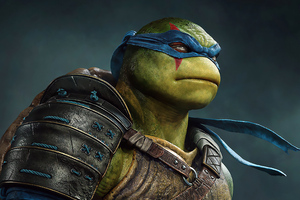 Leonardo Ninja Turtle 4k Wallpaper
