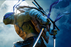 Leonardo Teenage Mutant Ninja Turtles Out of the Shadows 2 Wallpaper
