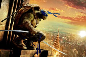 Leonardo Teenage Mutant Ninja Turtles Out Of The Shadows Wallpaper