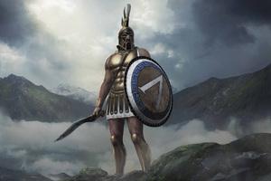 Leonidas Total War Arena 8k Wallpaper