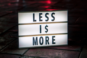 Less Is More Wallpaper