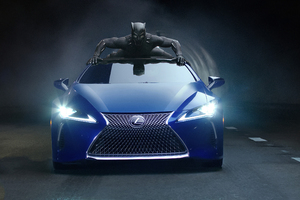 Lexus Black Panther LC 500 2018