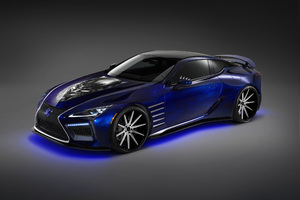 Lexus Black Panther LC 500 Wallpaper