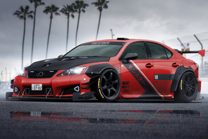Lexus Is F Sport 4k