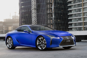 Lexus LC 500 Limited Edition 2018 Front Wallpaper