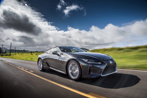 Lexus LC 500h 2018 4K Wallpaper