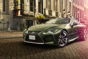 Lexus LC 500h Patina Elegance 2019 Wallpaper