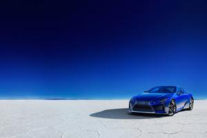 Lexus LC 500h Structural Blue 2018