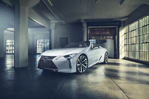 Lexus Lc Convertible Concept 2019 Wallpaper