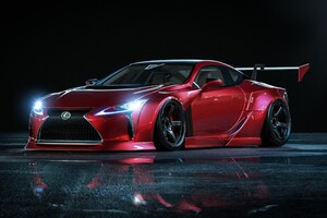 Lexus LC5500 Car Wallpaper