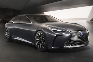 Lexus LS Concept Car Wallpaper