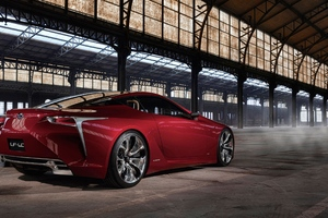 Lexus LF LC Concept Car Wallpaper