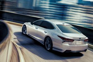 Lexus LS 500h F SPORT 2017
