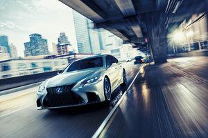 Lexus LS 500h F SPORT 2017 4k