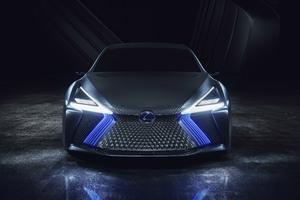 Lexus LS Concept 2017 Front