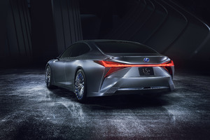Lexus LS Concept 2017 Wallpaper