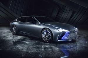 Lexus LS Concept 4k 2017