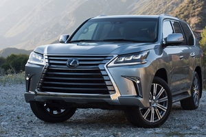 Lexus LX 570 SUV Wallpaper