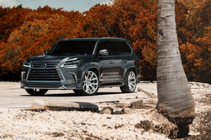 Lexus Lx 8k 2018 Wallpaper