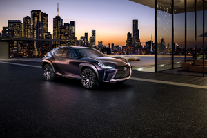 Lexus UX Concept Wallpaper