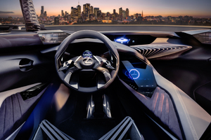 2016 Lexus UX Concept Car Wallpaper