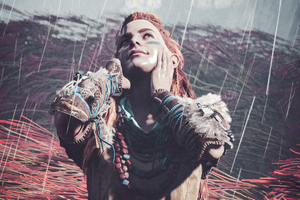 Life Is Good Aloy Horizon Zero Dawn 4k