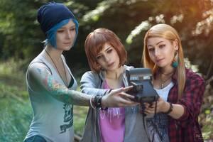 Life Is Strange Girls Cosplay 4k
