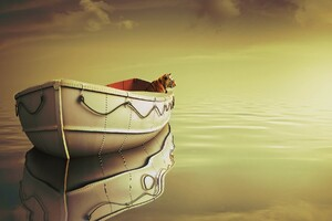 Life Of Pi Boat Wallpaper