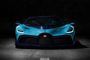 Light Blue Bugatti Divo