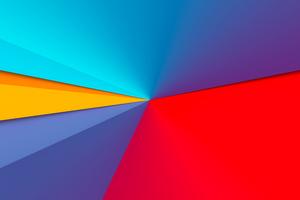 Light Color Shape 8k Wallpaper