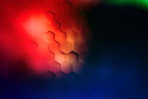 Light Flare Shapes 4k Wallpaper