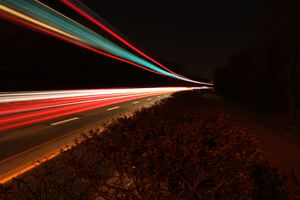 Light Trail Wallpaper