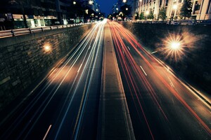 Light Trails Photography Wallpaper
