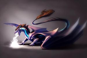 Lightning Dragon 4k Wallpaper