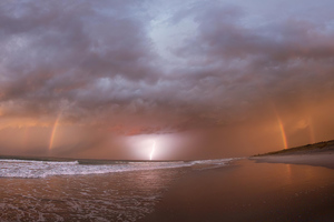 Lightning In New Zealand 5k