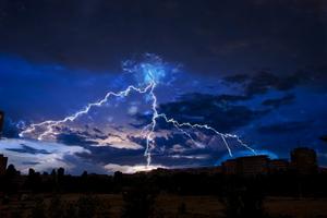 Lightning In Town