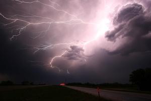 Lightning Storm 4k