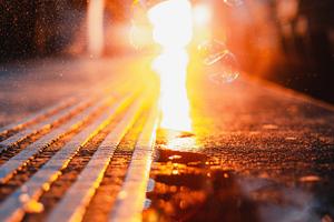 Lights Visual Urban Blurred 4k Wallpaper