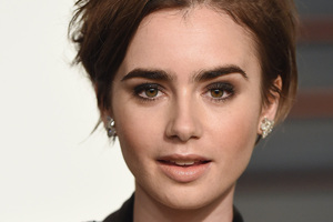Lily Collins 2018 4k