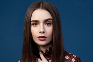 Lily Collins 2019 Portrait