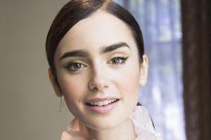 Lily Collins Closeup 2018