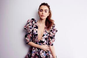 Lily Collins Les Miserables Photoshoot 2019 Wallpaper