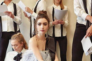 Lily Collins Paper Magazine Photoshoot 2019