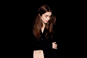Lily Collins The Observer Photoshoot