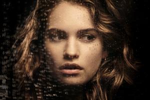 Lily James Portrait