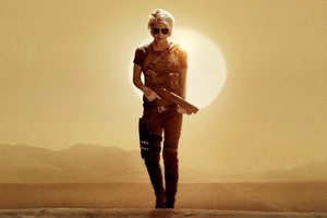 Linda Hamilton In Terminator Dark Fate 2019